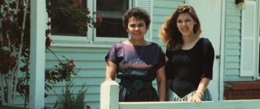 My Mom, Raquel, & Me (Raqui)