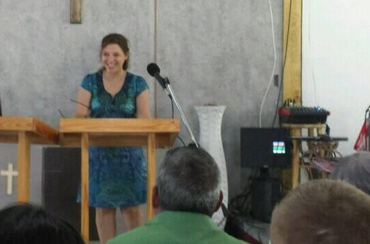 Raqui Preaching