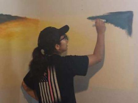 Thalia painting